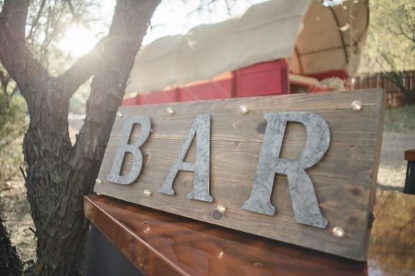 A bar is a great amenity for anyone